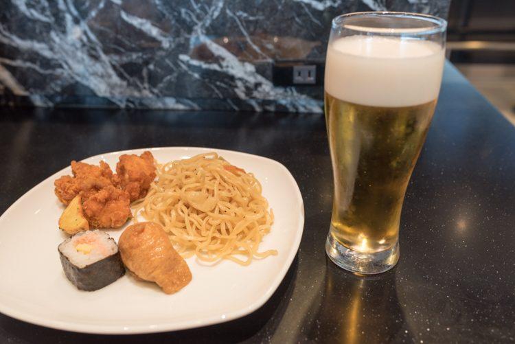 食事@羽田空港国際線ANAラウンジ-1