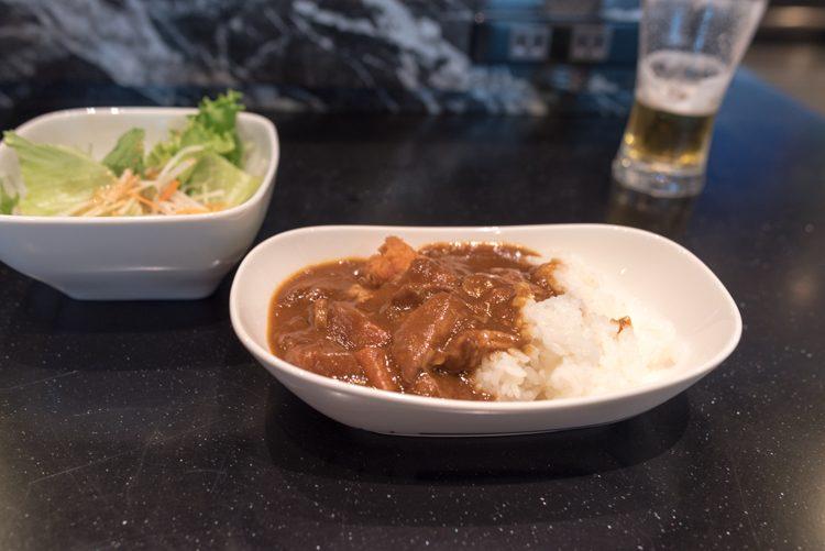 食事@羽田空港国際線ANAラウンジ-2