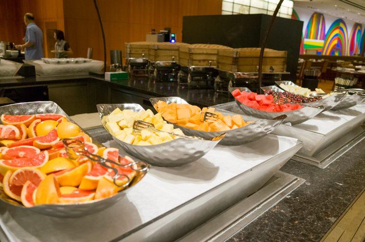 フルーツコーナー@RISEの朝食ビュッフェ