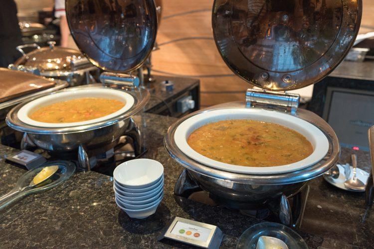 インド料理コーナー@RISEの朝食ビュッフェ-2