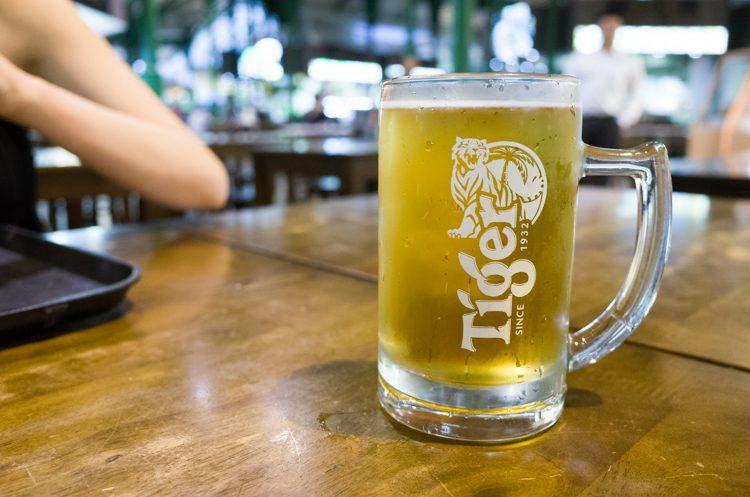 タイガービール@Lau Pa Sat-1
