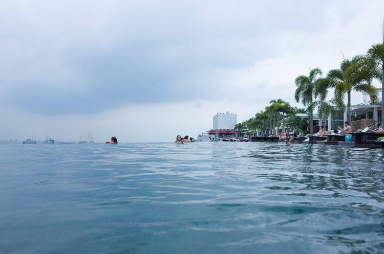 プール@Marina Bay Sans -2