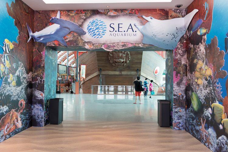 外観@S.E.A. Aquarium