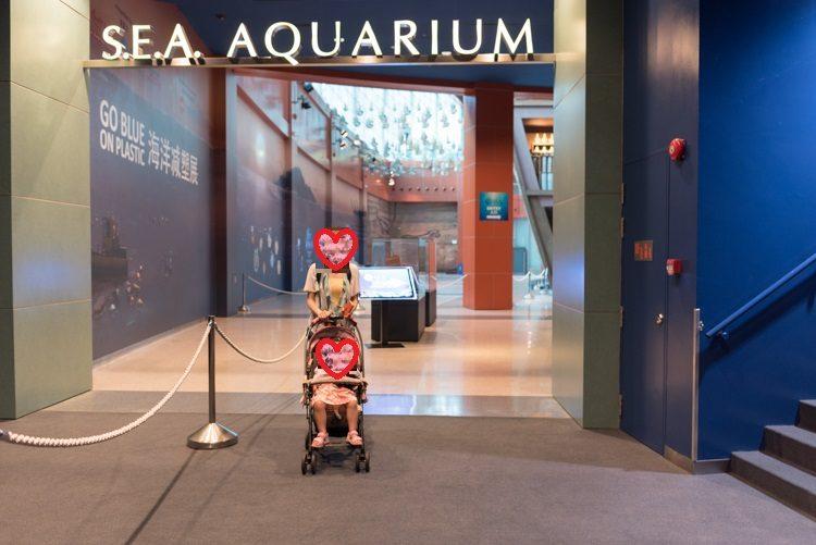 エントランス@S.E.A. Aquarium