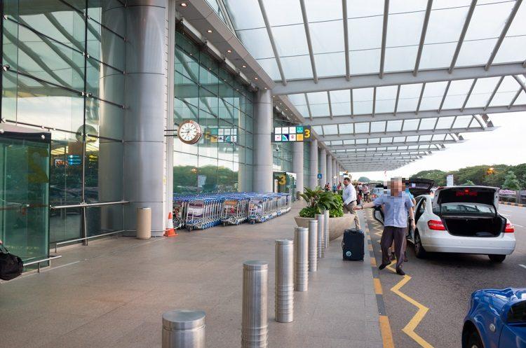 外観@シンガポールチャンギ国際空港