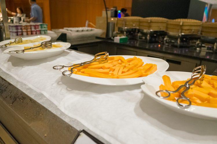 チーズコーナー@RISEの朝食ビュッフェ