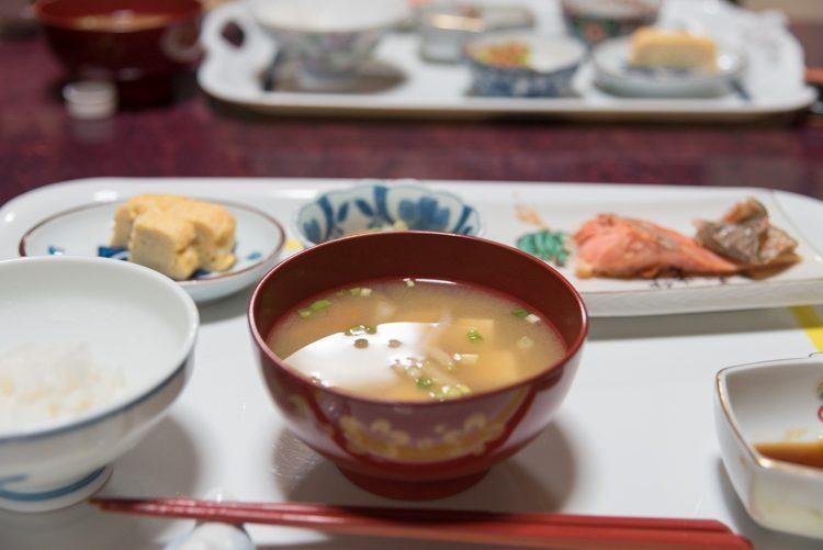 朝食@民宿おふく-2