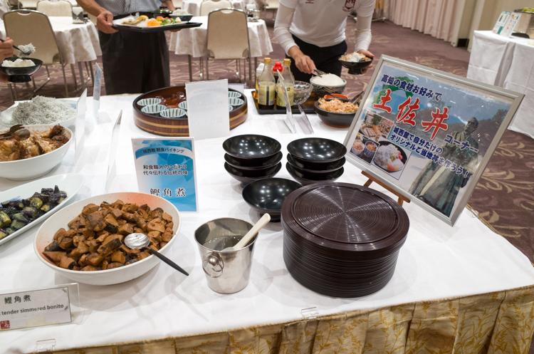 朝食ビュッフェ@城西館-10