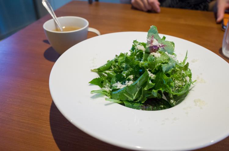 日替わりランチのサラダ@Brasserie一柳