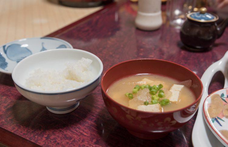 夕食@民宿おふく-2