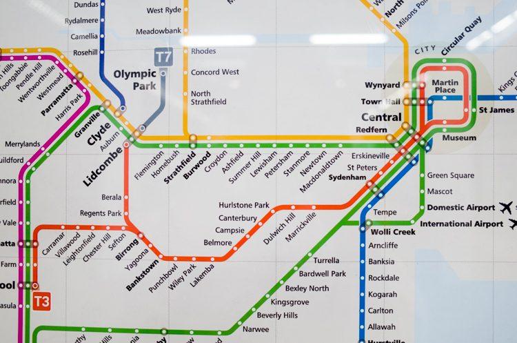 路線図@ブルーマウンテンズライン-1