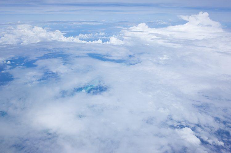 JAL SUITEの眺め@JL772-7