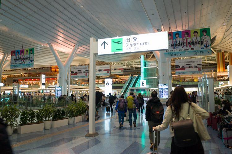 出発ロビー@羽田空港国際線ターミナル