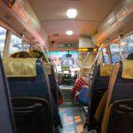 車内@AELフリーシャトルバス