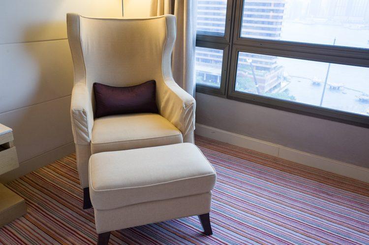 リラックスチェア@シェラトン香港ホテル&タワーズ
