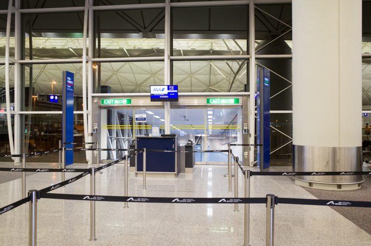 21番ゲート@香港国際空港