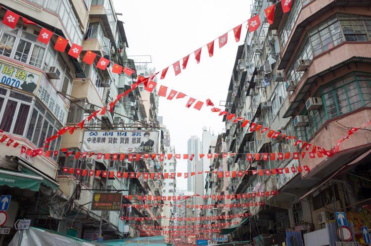 香港の街並み-4
