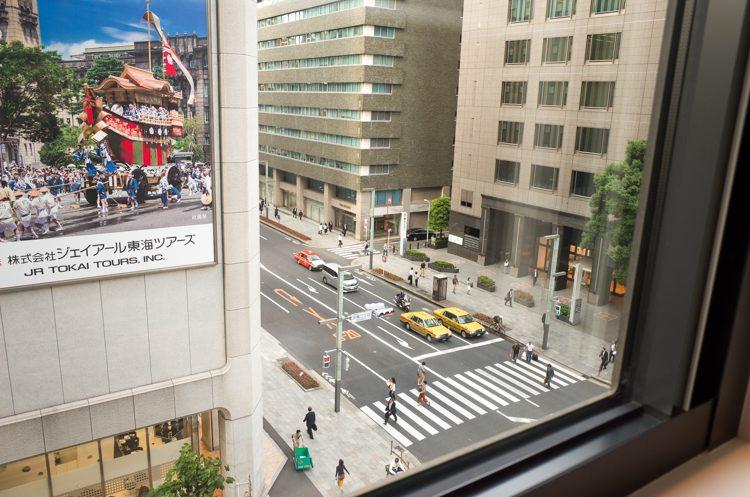 部屋からの眺め@コートヤード バイ マリオット東京ステーション