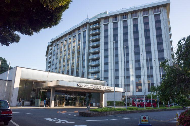 外観@シェラトン都ホテル東京