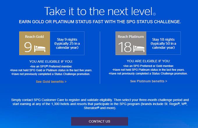 SPG Platinum Challenge