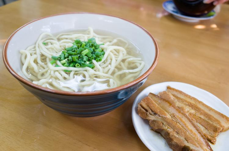 三枚肉そば@なかま食堂-1