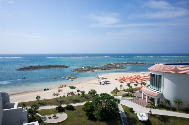 客室からの眺め@シェラトン沖縄-2