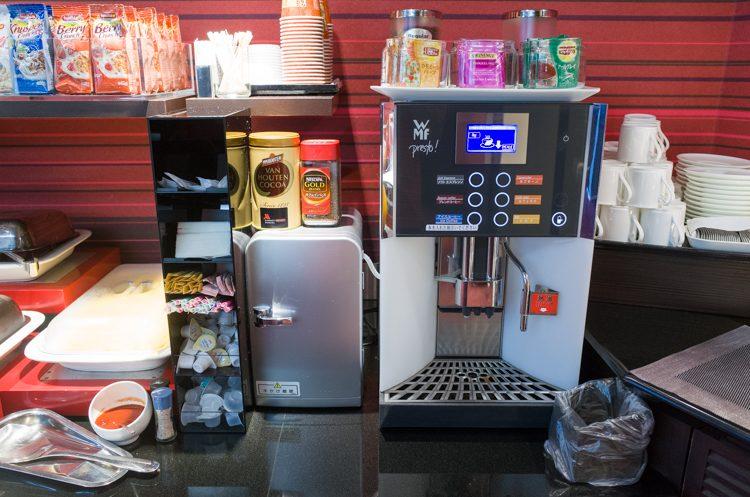 コーヒーマシン@ラウンジオーシャン