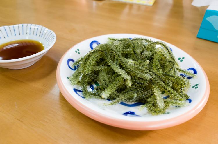 海ぶどう@なかま食堂