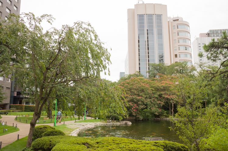 日本庭園@ザ・プリンスさくらタワー東京-1