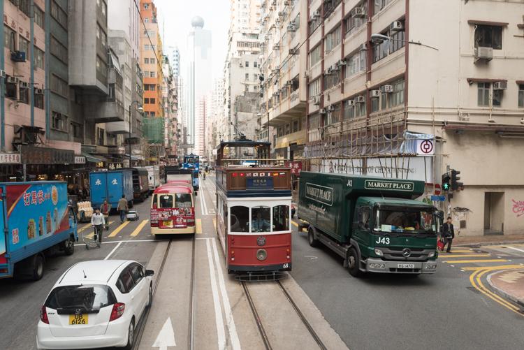 香港の街並-2