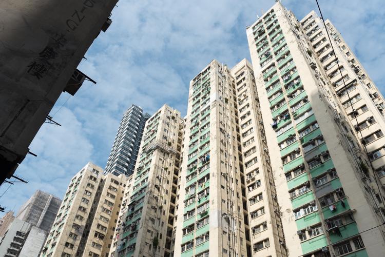 香港の街並-4