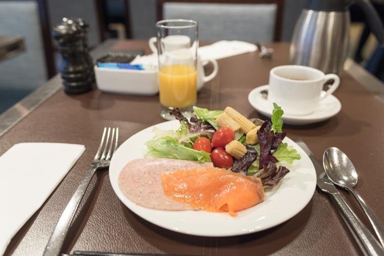 朝食@香港スカイシティマリオット-1