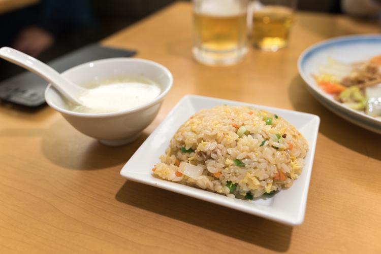 ミニ炒飯@551蓬莱関西空港店