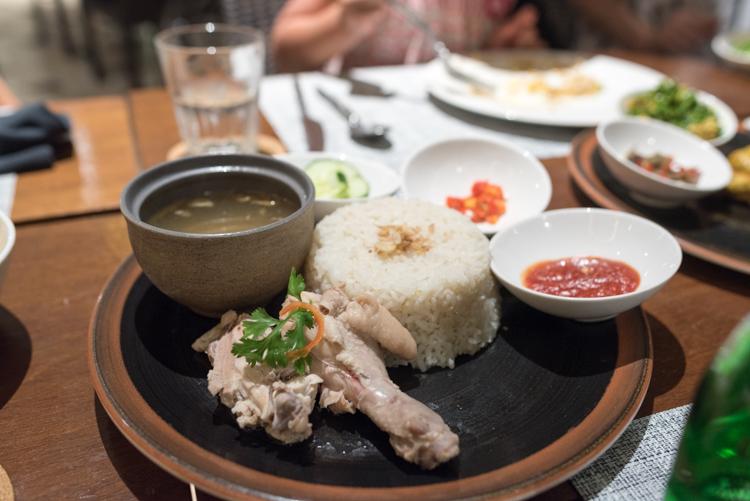 海南鶏飯@BAMBOO CHIC