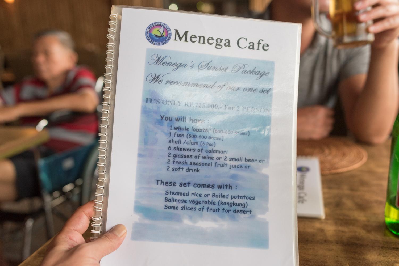 メニュー@Menega Cafe-2