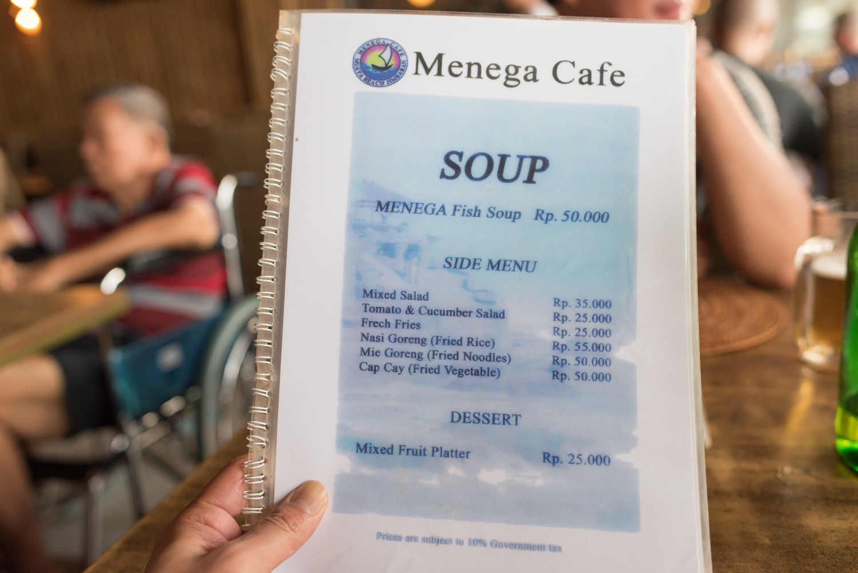 メニュー@Menega Cafe-3