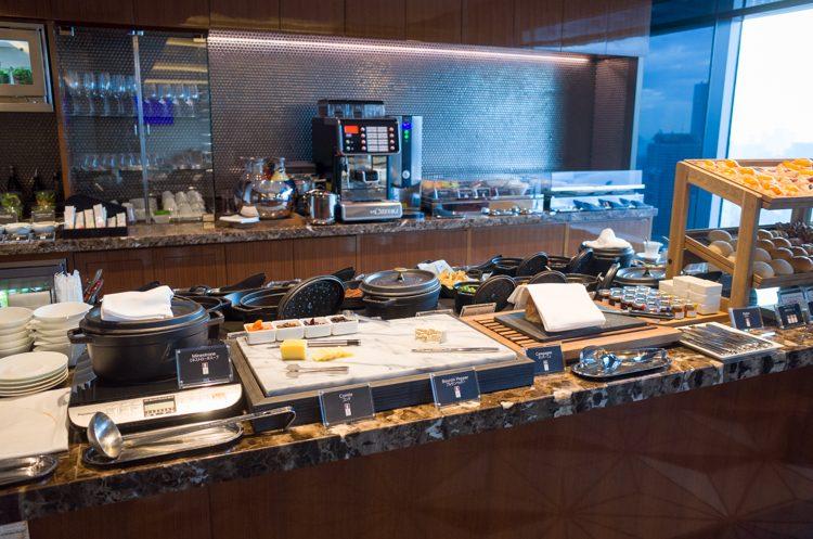 クラブラウンジの朝食@ザ・プリンスギャラリー東京-3